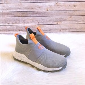 Timberland Light Grey Knit Brooklyn Oxford Sneaker